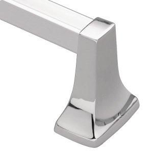 "Contemporary chrome 24"" towel bar Product Image"