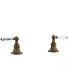 Highlands - Deck Diverter Trim - Unlacquered Brass