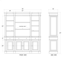 Roosevelt Estate Bookcase