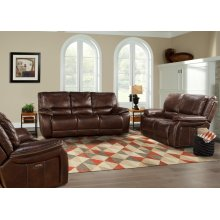 Loveseat Dual Power Reclining With Usb & Power Headrest
