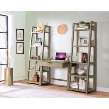 Perspectives - Wall Desk - Sun-drenched Acacia Finish