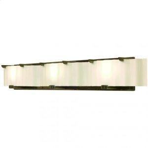 Triple Plank Vanity - Corrugated Glass - V445 Silicon Bronze Brushed Product Image