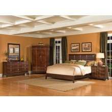 California King Leather Bed