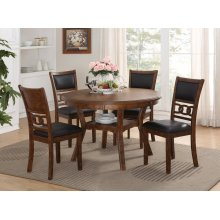 New Classic Home Furnishings D1701-50S-BRN Southland 5-Piece Dinette - Table And 4 Chairs