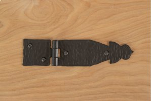 "Black 7"" Furniture Hinge 504311 Product Image"