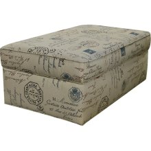 June Storage Ottoman 2A00-81