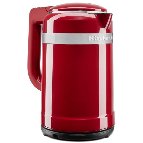 1.5 Liter Electric Kettle with dual-wall insulation - Empire Red