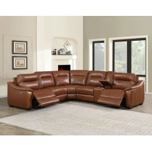 "Casa Sectional Pw/Pw Right Arm Recliner Coach 37"" x 39"" x 40"""