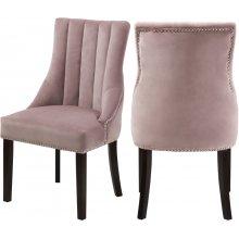 "Oxford Velvet Dining Chair - 20.5"" W x 25"" D x 38.5"" H"