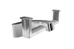 Double Bathroom Hook for Bathrobe - Chrome Product Image