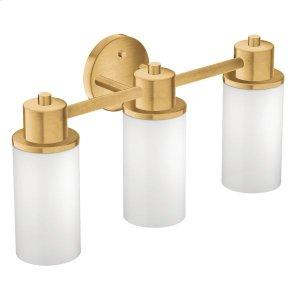 Iso brushed gold bath light Product Image