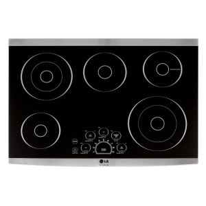"LG STUDIO 30"" Electric Cooktop Product Image"