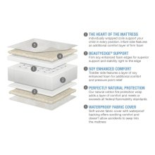 Beautyrest® PLATINUM® 2 Stage Crib and Toddler Mattress - PLATINUM 2 Stage Crib and Toddler Mattress No Color (NO)