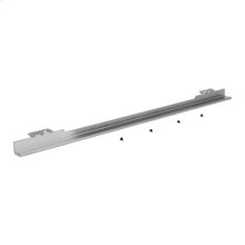 30-in Warming Drawer Heat Deflector, Black/Stainless Steel