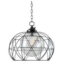 Cavea - 1 Light Outdoor Pendant