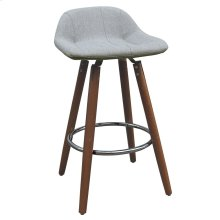 "Camaro II 26"" Counter Stool, set of 2, in Grey"