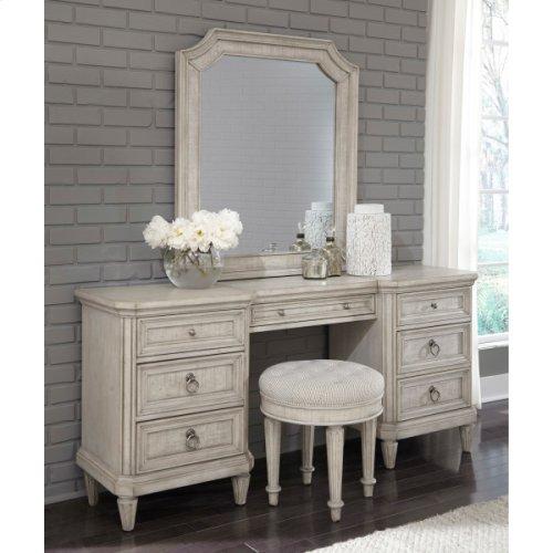 Linen Grace Vanity Mirror