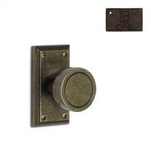Rosette Single Dummy Set - Copper Bronze