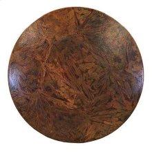 """54"""" Round Otono Copper Top"""