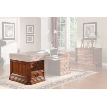 GRAND MANOR GRANADA Executive Left Desk Pedestal