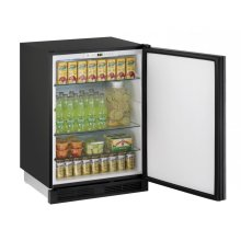 "24"" Solid Door Refrigerator Integrated Solid Field Reversible"