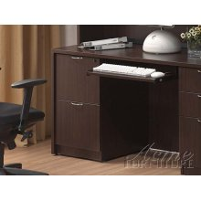 TWO DRAWERS FILE CABINET WITHOUT TOP