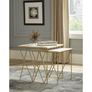 Adrian 2 Piece Nesting Table