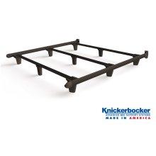 Brown King EmBrace Bed Frame
