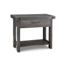 Rafters Sofa Table w/ 1 Drawer w/Shelf