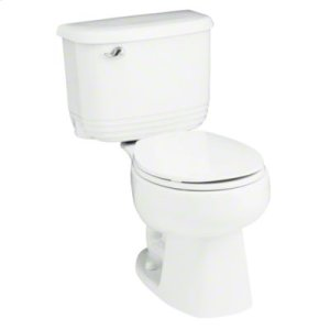 Riverton™ Round Front 2-Piece Toilet with 1.28 GPF and Pro Force® Technology - White Product Image