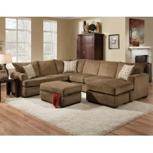 Perth Pewter 2 PC Sectional