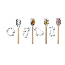 Pet Spatula with Cookie Cutters (12 set ppk.)