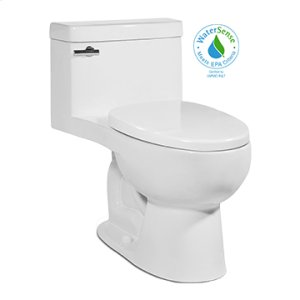 Black RIOSE One-Piece Toilet 1.28gpf, Elongated