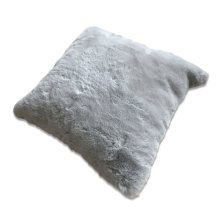 Chinchilla Faux pillow - Silver Rug