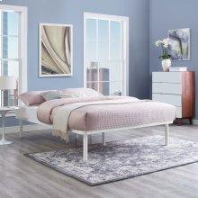 Rowan King Bed Frame in White