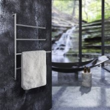 Towel Bar, 4 Swivel Arms for Towels
