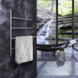Towel Bar, 4 Swivel Arms for Towels Product Image