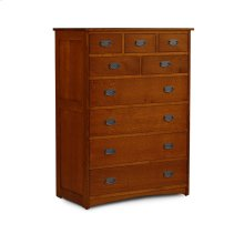 Prairie Mission 9-Drawer Chest