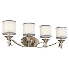Lacey 4 Light Vanity Light Antique Pewter