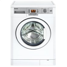 "24"" 1000 rpm LCD washer, 1.95 cu ft load capacity, white (22"" deep)"