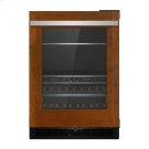 """Panel-Ready 24"""" Built-In Undercounter Beverage Center - Right Swing, Stainless Steel Product Image"""