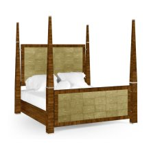 Ivory Shagreen US Queen Bed