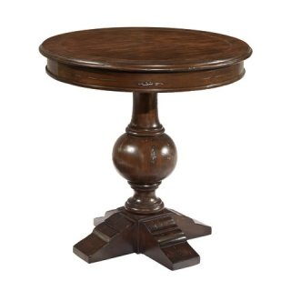 Charleston Place Round Lamp Table