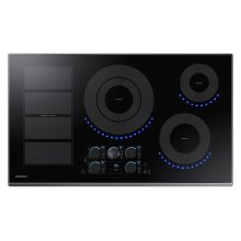 "36"" Induction Cooktop in Black"