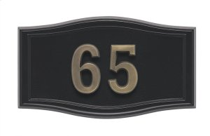 Small Roundtangle HouseMark ® Address Plaques Product Image