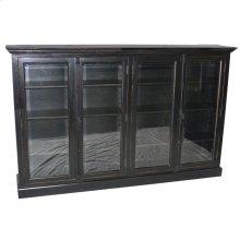 Large 4-Door Bookcase