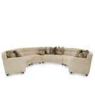 Cloche 4pc Sectional Grp2 Opt1 Bourbon Product Image