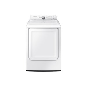 7.2 cu. ft. Electric Dryer with Moisture Sensor in White Product Image
