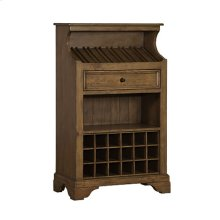 Tuscan Retreat® Slanted Wine Rack - Antique Pine