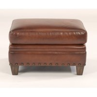 Maxfield Leather Ottoman Product Image